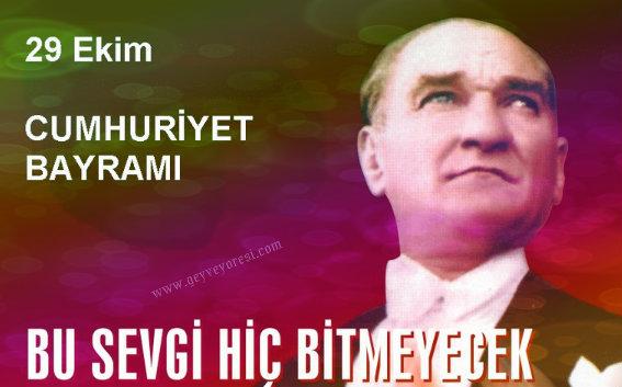 Geyve'de 29 Ekim Cumhuriyet Bayramı