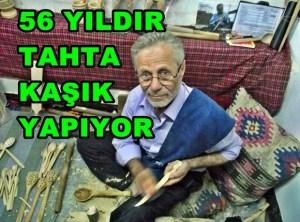 Taraklı'da 56 Yıldır Tahta Kaşık Yapıyor..