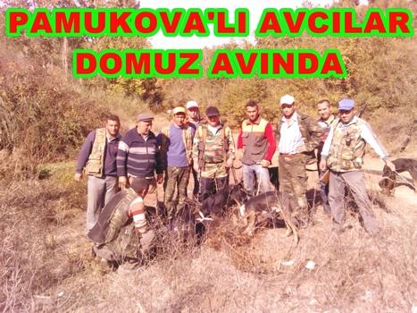 Pamukova'lı Avcılar Ercek Köyünde Domuz Avında