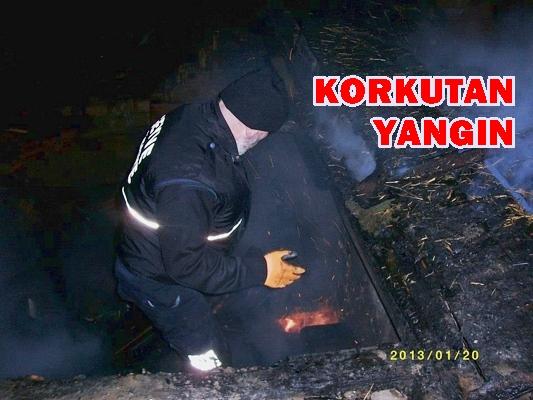 Sütalan Köyü Elmadere Mahallesinde Yangın
