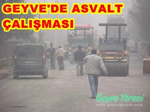 Geyve'de Asvalt Çalışmaları ( 2 Video )