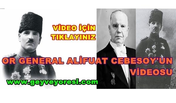 Alifuat CEBESOY Paşanın (Alifuatpaşa)Videosu