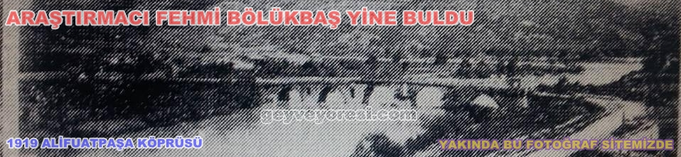 Alifuatpasa 1919 Kopru