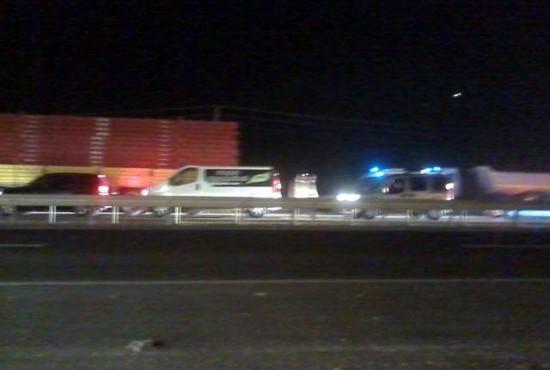 Pamukova.. Eskişehir Karayolunda Trafik Kazası