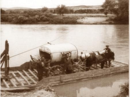 Sakarya Nehrinde Eskiden Sal Kullanılırdı