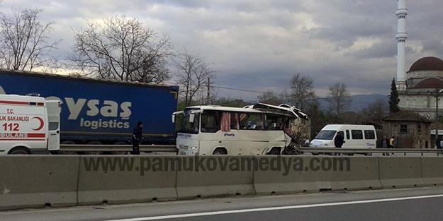 Pamukova Kop Kaza Yaptı