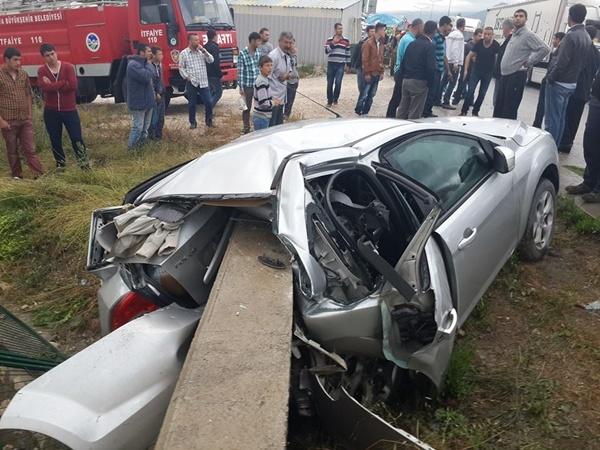 Pamukova'da Kaza 1 Ağır  2 Yaralı Var
